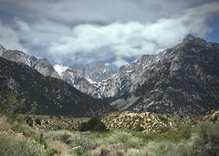 Mt. Whitney - Whitney Portals (docentjoyce) Tags: mtwhitneycaelev14505ft easternsierra highsierragraniteformations cahikingtrail lonepineca wikimedia creativecommonsmtwhitney inyocountyhighlight