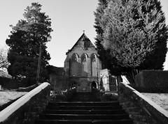St Mary's catholic church (Valantis Antoniades) Tags: st marys mary catholic church scotland stirling uk architecture black white monochrome monochromatic