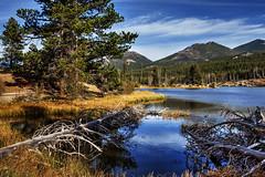 Sprague Lake, Rocky Mountain National Park, Colorado (klauslang99) Tags: klauslang nature naturalworld northamerica rocky mountains national park colorado sprague lake water