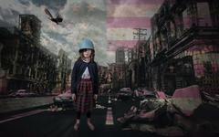 Election Dread (Geoff Livingston) Tags: trump iowa caucus primary presidential election protest girl u2 democracy justice america united states anger