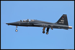 67-14845_394th CTS (Scramble4_Imaging) Tags: northrop t38 t38a talon trainer aircombatcommand usaf usairforce unitedstatesairforce military jet aviation airplane aircraft whitemanafb
