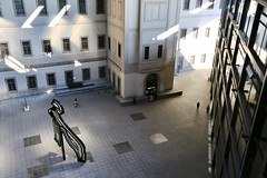 The Courtyard (Matthijs Borghgraef   Kwikzilver) Tags: matthijsborghgraef photography kwikzilver fotografie madrid spain españa museum museo reina sofia building court courtyard architecture by jeannouvel travel travelling