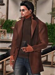 #342 (SoulCrack3r) Tags: galvanized coat phone pose shades glasses bluprnt blog blogger secondlife clothes male sponsor fashion slfashion malefashion