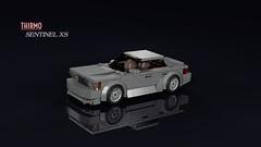 ᴛʜɪʀᴍᴏ Sentinel XS (1985) (THIRMO) Tags: thirmo vonerics lego 6wide moc cityscale sentinel xs gta grandtheftauto vicecity 1985 1986 bmwe28 sport sedan saloon povray ldraw minifig