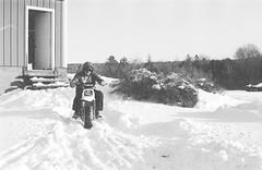 2018121901_18 (onebellboy) Tags: wholerollproject wwwellsworthbellcom onebellboy kodak trix nikonf5 50mmf18g diafine nikonsupercoolscan4000 blackandwhite monochrome grain outdoors maine yamah bigwheel bw80 exeter winter snow dirtbike