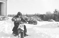 2018121901_20 (onebellboy) Tags: wholerollproject wwwellsworthbellcom onebellboy kodak trix nikonf5 50mmf18g diafine nikonsupercoolscan4000 blackandwhite monochrome grain outdoors maine yamah bigwheel bw80 exeter winter snow dirtbike