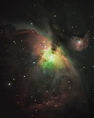 m42-orion-nebula-20200131 (Jun C Photography) Tags: m42 orion nebula celestron avx asi294mcpro asiair messier 42 ngc1976 astrophotography night sky dso app astropixelprocessor luminar luminar4 skylum