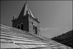 Roof (GColoPhotographer) Tags: lines liguria sanpietro bianconero roof belltower bw portovenere blackandwhite geometry architechture