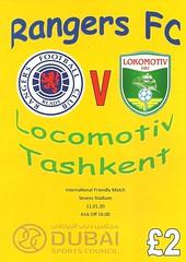 Rangers v Lokomotiv Tashkent 20200111 (tcbuzz) Tags: rangers football club ibrox stadium glasgow sevens dubai scotland uzbekistan pirate programme