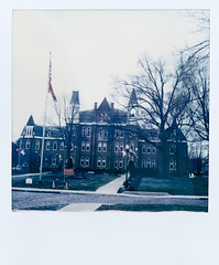 (gryphon1911 [A.Live]) Tags: color film polaroid sx70 instant college otterbein