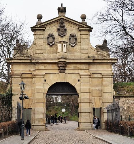 Leopoldova brána, Praha, Vyšehrad (20200201)