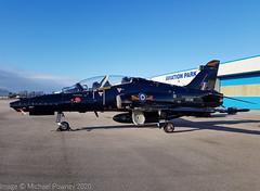 ZK018 - 2008 build British Aerospace Hawk T.2, part of a detachment of seven at Hawarden (egcc) Tags: i 1247 bae britishaerospace broughton ceg chester egnr hawarden hawk hawkt2 lightroom raf rt009 royalairforce trainer zk018