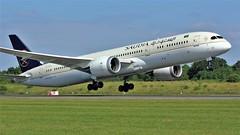 HZ-AR23 (AnDyMHoLdEn) Tags: saudia saudiarabian 787 dreamliner skyteam egcc airport manchester manchesterairport 23l