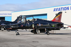 ZK020 - 2008 build British Aerospace Hawk T.2, special 100 years 1912-2012 tail logo (egcc) Tags: k 100years 1249 19122012 bae britishaerospace broughton ceg chester egnr hawarden hawk hawkt2 lightroom raf rt011 royalairforce trainer zk020