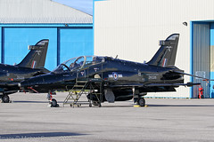 ZK026 - 2008 build British Aerospace Hawk T.2, on TDY duty at Hawarden (egcc) Tags: fb 1255 bae britishaerospace broughton ceg chester egnr hawarden hawk hawkt2 lightroom raf rt017 royalairforce trainer zk026 xxv