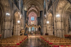 Inside Christchurch Cathedral (dmoon1) Tags: sonyrx100m3 christchurch cathedral dublin medieval