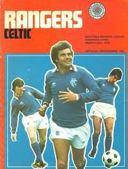 Rangers v Celtic 19790324 (tcbuzz) Tags: rangers football club ibrox stadium hampden park glasgow scotland programme match postponed