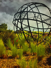 Big ball (Beatrix MK) Tags: mountainview california ca statue art park peninsula bayarea sanfranciscobayarea usa