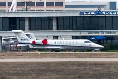 N443SL Learjet 45-061 KADS (CanAmJetz) Tags: n443sl learjet 45061 kads ads bizjet aircraft airplane