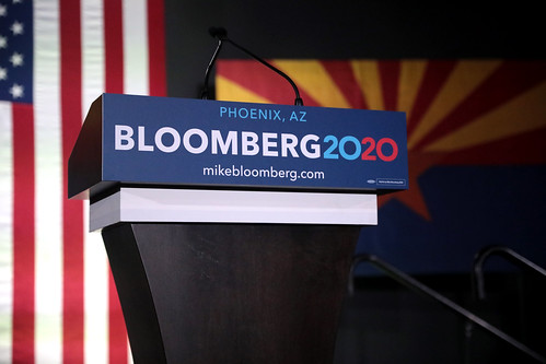 Michael Bloomberg podium by Gage Skidmore, on Flickr