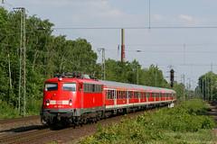 DB Regio - 110 455 (flof801) Tags: db deutsche bahn regio regionalbahn rb 35 düsseldorf emmerich niederrhein öpnv vrr nahverkehr eisenbahn zug nwagen