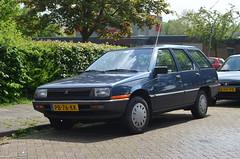 1986 Mitsubishi 1500 Wagon PB-76-KK (Stollie1) Tags: 1986 mitsubishi 1500 wagon pb76kk zwolle