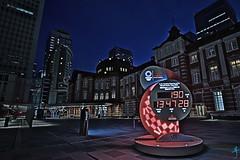 凌晨五點的東京車站-距離東京奧運還有190天 (迷惘的人生) Tags: 東京都 日本 canon 5d4 5div 1635mm 東京車站
