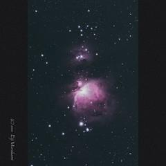 The Orion Nebula (M42) (Eiji Murakami) Tags: winter sony a6600 α6600 alpha6600 willamoptics redcat unitec swat350 sightron qbpfilter messier m42 m43