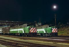 BN 9905 and 9908 at Auroa, IL (thechief500) Tags: bn bnsf metra railroads aurora il usa