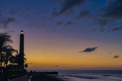 Lighthouse in the morning light (marenphotography) Tags: grancanaria sunrise morning lighthouse dawn morninglight colorful morningsun