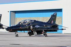 ZK035 - 2008 build British Aerospace Hawk T.2, part of a line of seven weekend stopping at Hawarden (egcc) Tags: fk 1264 bae britishaerospace broughton ceg chester egnr hawarden hawk hawkt2 lightroom royalairforce trainer zk035 raf rt026 xxv