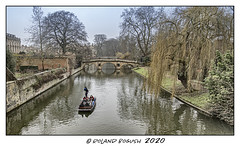 Winter punt on the Cam (Roland Bogush) Tags: cambridge sonyrx100mk7