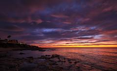 View from a morning walk (Vest der ute) Tags: spain xt2 sky clouds rocks houses sunrise fav25 fav200