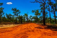 litchfield national park (Greg M Rohan) Tags: nikon nikkor d7200 litchfield litchfieldnationalpark blue red nt australia dirt northernterritory landscape