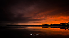Certain Things... (RonnieLMills 7 Million Views. Thank You All :)) Tags: donaghadee sunrise dawn early morning sun lighthouse clouds water reflections certainthings ronnielmills landscape photography