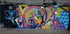 Graffs St Brieuc (claude 22) Tags: saintbrieuc lelégué port harbour graffs peinturemurale bretagne france côtesdarmor graffiti
