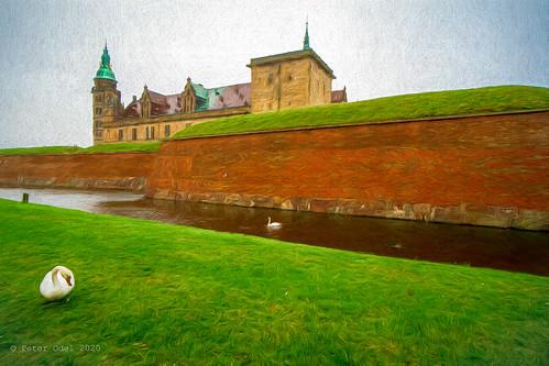 Kronborg Castle. Painted series 4