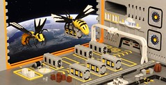 Cargo Wasp Inc. (Sheo.) Tags: lego moc scifi space
