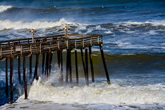 The Storm (jade2k) Tags: outerbanks ocean pier storm nc