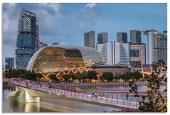 Jubilee footbridge (.Wadders) Tags: jubileebridge marinabay singapore water cityscape z6
