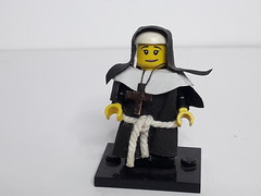 NON MARIA (krisdecatte) Tags: lego medieval custom minifigurines religion