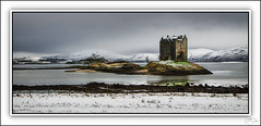 Photo of Castle Stalker, Scotland.