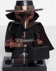 PLAGUE DOCTOR (krisdecatte) Tags: lego custom medieval minifigurines healthcare
