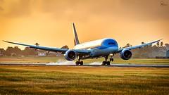TUI | G-TUIN | Boeing 787-9 | BGI (Terris Scott Photography) Tags: aircraft airplane aviation plane spotting nikon d850 sigma 100400mm travel barbados jet jetliner tui fly dreamliner 7879 789 sunset golden hour