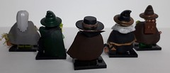 Doctors in the Middle Ages (krisdecatte) Tags: lego custom medieval minifigurines healthcare