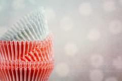 Cupcake papers (Anikó Lázár) Tags: macromondays theoddone cupcakepaper macro texture baking