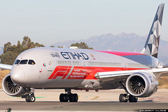 Etihad Airways Boeing 787-9 Dreamliner cn 39676 / 768 A6-BLV (Clément Alloing - CAphotography) Tags: abu dhabi grand prix cs etihad airways boeing 7879 dreamliner cn 39676 768 a6blv barcelona airport barcelone lebl bcn canon 100400 spotting aeropuerto airplane aircraft 25r 07l balcon t1 flight aeroplane engine sky ground take off landing 5d mark iv