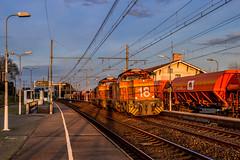 02 février 2020 Colas 18-19 Train 465400 Saint-Varent -> Langon Langon (33) (Anthony Querleau) Tags: langon g1206 colas desserte fret france ferroviaire train