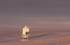 Casting A Shadow (Captain Nikon) Tags: lowtide shadow sunrise lighthouse southwest somerset burnhamonsea
