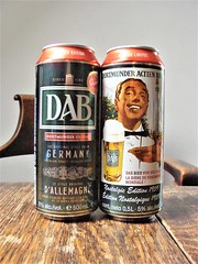 Dortmunder Actien Bier (knightbefore_99) Tags: beer cerveza pivo awesome tasty two dos pair best great hops malt can delicious import dab dortmunder actien bier nostalgic edition